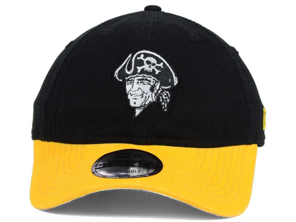 0e89c818864 durable modeling Pittsburgh Pirates New Era MLB Coop Core Classic 2Tone  9TWENTY Strapback Cap