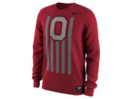 Nike NCAA Men's Throwback Long Sleeve T-Shirt T-Shirts