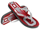 Ohio State Buckeyes Forever Collectibles Gradient Big Logo Unisex Flip Flop Apparel & Accessories