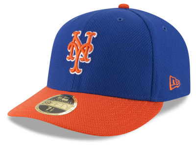 New York Mets MLB Batting Practice Diamond Era Low Profile 59FIFTY Cap Hats