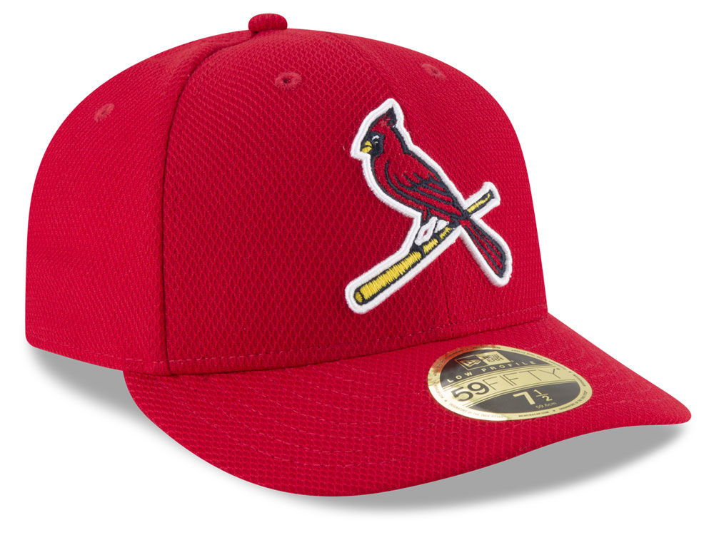cheap for discount 8d8fd b6a4b ... reduced st. louis cardinals new era mlb batting practice diamond era  low profile 59fifty cap