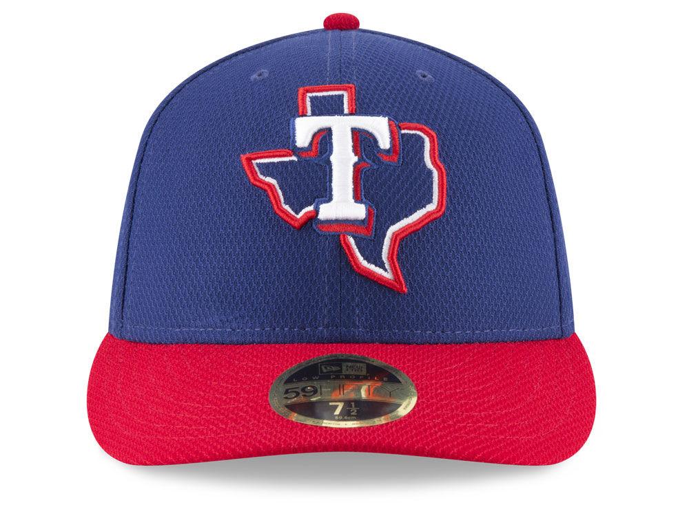 check out 6df4f 0a7db Texas Rangers New Era MLB Batting Practice Diamond Era Low Profile 59FIFTY  Cap on sale
