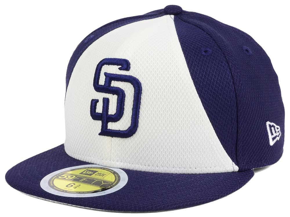 finest selection 389b7 11b3d 85%OFF San Diego Padres New Era 2017 MLB Kids Batting Practice Diamond Era  59FIFTY
