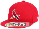 St. Louis Cardinals New Era 2017 MLB Kids Batting Practice Diamond Era 59FIFTY Cap Fitted Hats