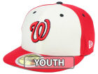 Washington Nationals New Era 2017 MLB Kids Batting Practice Diamond Era 59FIFTY Cap Fitted Hats