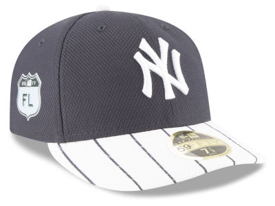 New York Yankees 2017 MLB Diamond Era Spring Training Low Profile 59FIFTY Cap Hats