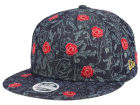 Beauty and the Beast All Over Denim Rose 9FIFTY Snapback Cap Adjustable Hats
