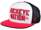 Ohio State Buckeyes J America NCAA Trucker Cap Adjustable Hats