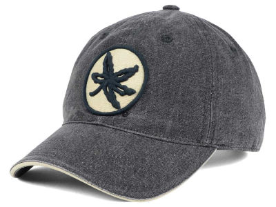 J America NCAA Pigment Dyed Canvas Adjustable Cap Hats