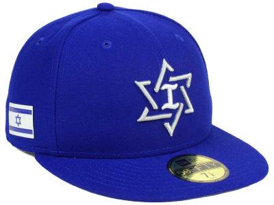 Lids Custom Hats >> Israel New Era World Baseball Classic 59FIFTY Cap | lids.com