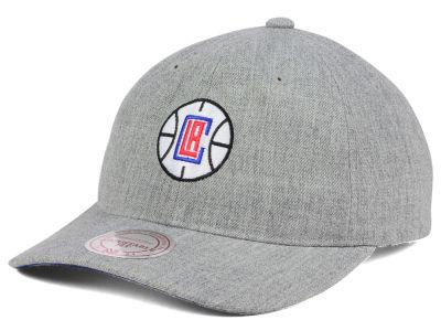 san francisco a920a c921b Los Angeles Clippers Mitchell   Ness NBA Heather Grey Dad Hat   lids.com