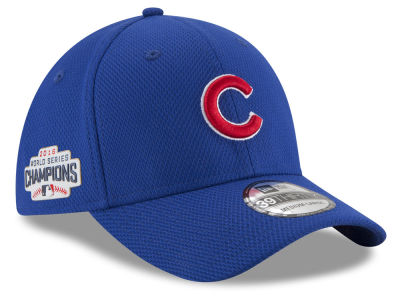 Chicago Cubs MLB 2016 World Series Diamond Era Locker Room 39THIRTY Cap Hats