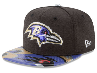 Baltimore Ravens 2017 NFL Draft 9FIFTY Snapback Cap Hats