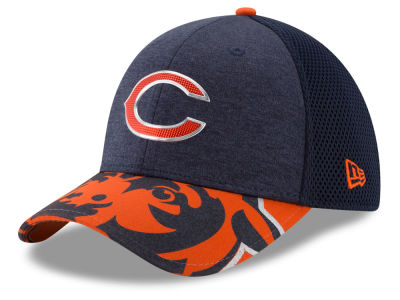 Chicago Bears 2017 NFL Draft 39THIRTY Cap Hats