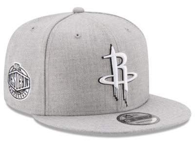 Houston Rockets The Heather Boy 9FIFTY Snapback Cap Hats