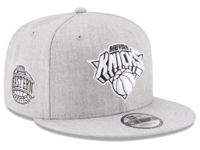 New York Knicks The Heather Boy 9FIFTY Snapback Cap Hats