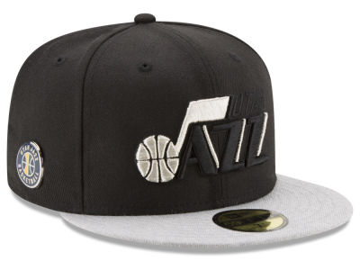 Utah Jazz NBA Pintasic 59FIFTY Cap Hats