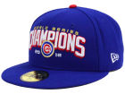 Chicago Cubs New Era MLB 2016 World Series Collection 59FIFTY Cap Fitted Hats