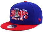 Chicago Cubs New Era MLB 2016 World Series Collection 9FIFTY Snapback Cap Adjustable Hats