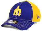 Seattle Mariners New Era MLB Team Front Neo 39THIRTY Cap Stretch Fitted Hats