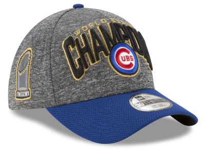 Chicago Cubs 2016 MLB World Series Champ 2 Tone Locker Room 39THIRTY Cap Hats