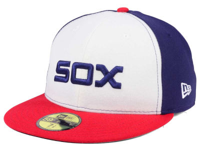 Chicago White Sox New Era MLB Authentic Collection 59FIFTY Cap ... 7401dfb2dcd