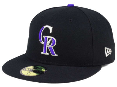 Colorado Rockies New Era MLB Authentic Collection 59FIFTY Cap  0d59d8435a7