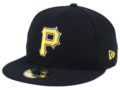 Pittsburgh Pirates New Era MLB Authentic Collection 59FIFTY Cap ... 9207430100c