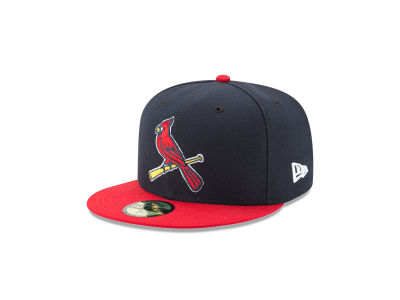 St. Louis Cardinals New Era MLB Authentic Collection 59FIFTY Cap ... d1165d4b310
