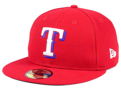 Texas Rangers New Era MLB Authentic Collection 59FIFTY Cap 99a958010ce