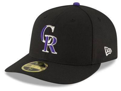 Colorado Rockies MLB Low Profile AC Performance 59FIFTY Cap Hats
