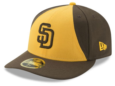 San Diego Padres MLB Low Profile AC Performance 59FIFTY Cap Hats