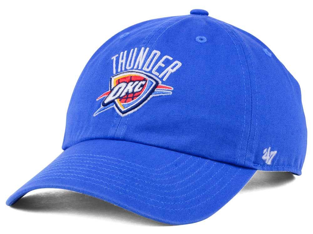 huge discount a47be daa62 good Oklahoma City Thunder  47 NBA  47 CLEAN UP Cap