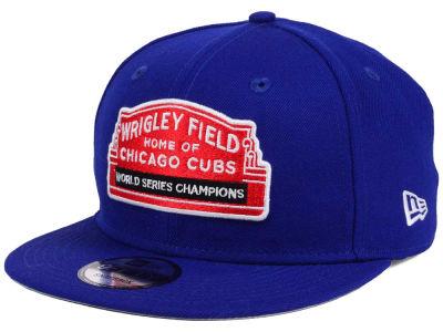 cc2b5ea62f9 Chicago Cubs New Era MLB World Series Champ Marquee 9FIFTY Snapback Cap