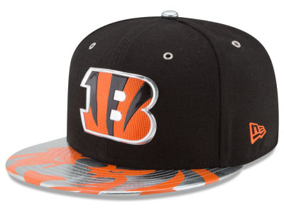 Cincinnati Bengals 2017 NFL Draft Team Color 59FIFTY Cap Hats