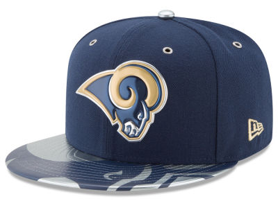 Los Angeles Rams 2017 NFL Draft Team Color 59FIFTY Cap Hats