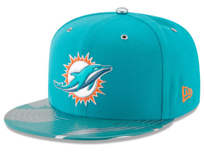 Miami Dolphins 2017 NFL Draft Team Color 59FIFTY Cap Hats