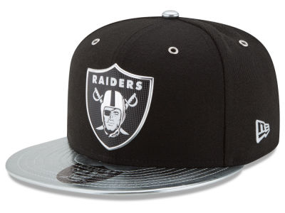 Oakland Raiders 2017 NFL Draft Team Color 59FIFTY Cap Hats