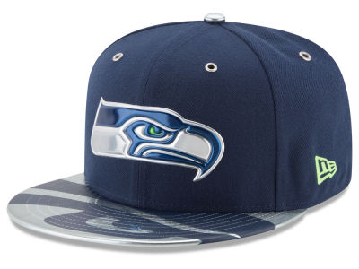 Seattle Seahawks 2017 NFL Draft Team Color 59FIFTY Cap Hats