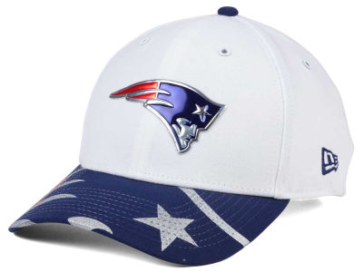New England Patriots 2017 NFL Draft Fashion 39THIRTY Cap Hats