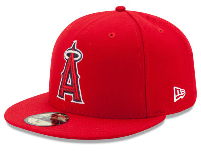 Los Angeles Angels MLB Authentic Collection 59FIFTY Cap Hats