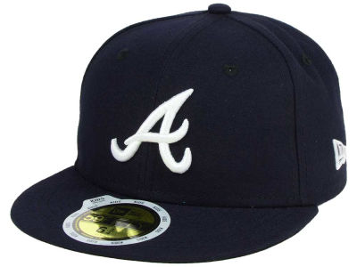Atlanta Braves MLB Authentic Collection 59FIFTY Cap Hats