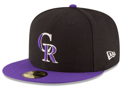 Colorado Rockies MLB Authentic Collection 59FIFTY Cap Hats