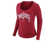 Nike NCAA Women's Dri Fit Slub Long Sleeve T-Shirt T-Shirts