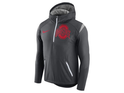 Nike NCAA Men's Fly-Rush Hooded Quarter Zip