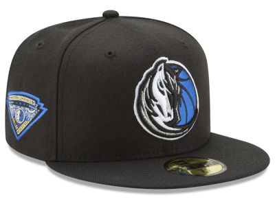 Dallas Mavericks NBA Metallic Diamond Patch 59FIFTY Cap Hats