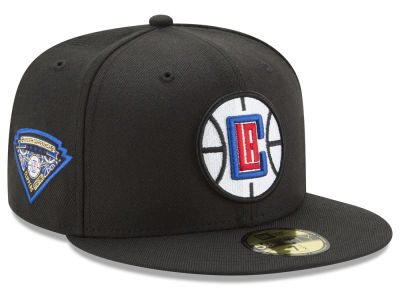Los Angeles Clippers NBA Metallic Diamond Patch 59FIFTY Cap Hats