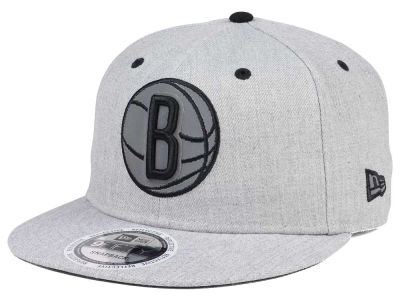 Brooklyn Nets NBA Total Reflective 9FIFTY Snapback Cap Hats