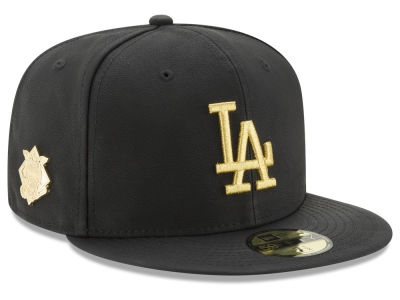 Los Angeles Dodgers MLB The League Metallic Patch 59FIFTY Cap Hats