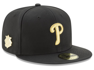 Philadelphia Phillies MLB The League Metallic Patch 59FIFTY Cap Hats